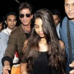 suhana khan pictures with daddy papa shahrukh khan