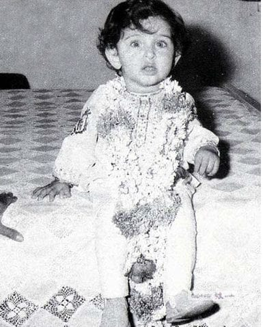 Hrithik roshan infant photo