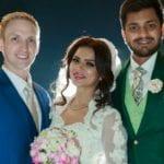 aashka goradia marriage pics, aashka goradia wedding pics