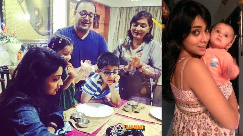 Shriya Saran Family Photo
