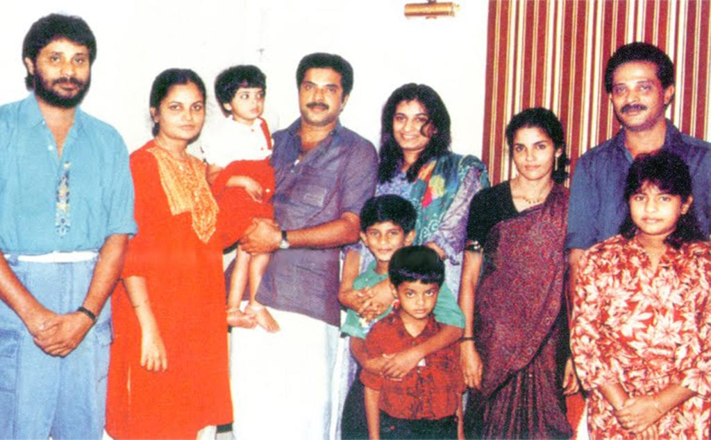 Mammootty family photos Wife Daughter Son