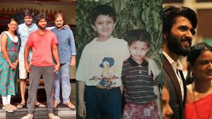 Vijay deverakonda Family photos and childhood photos