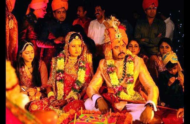 Sreesanth Marriage Photo