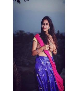 Sahithi Dasari Images Pellichoopulu Traditional Ware