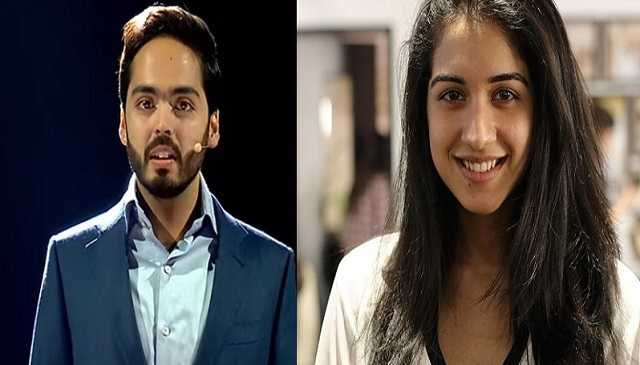 Anant Ambani Radhika Merchant Photo