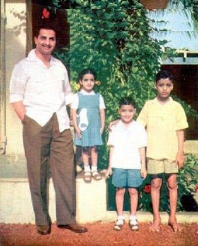 Jr NTR childhood family photo