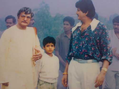 Jr NTR childhood pictures with Senior NTR