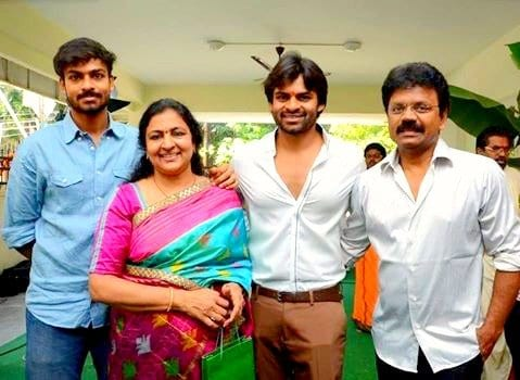 Vaishnav Tej Family mother, father and Brother Sai Dharam Tej