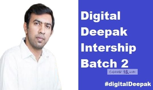 Digital Deepak Intership course batch 2