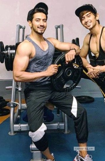 faisal shaikh in his gym
