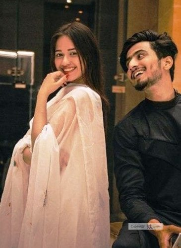 faisal shaikh with Jannat Zubair photo