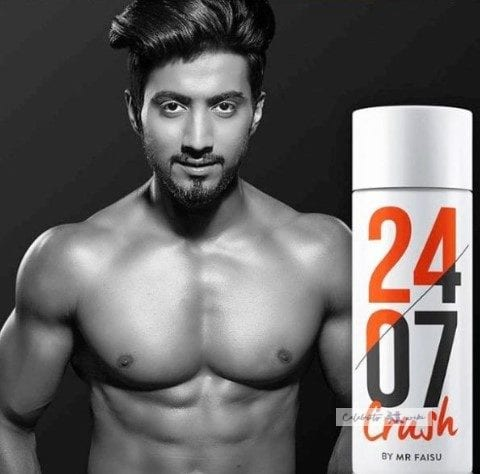 faisal shaikh with his Own Brand 2407 Deodrand