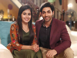 Rhea Sharma with ruslaan mumtaz