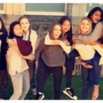 suhana khan with friends school mates and class mates