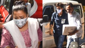 Comedian Bharti Singh arrested in drug case image.