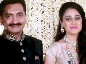 daya ben with her husband Mayur Padia
