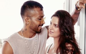 Natasa Stankovic and Hardik Pandya together