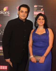 Chandrachur Singh with wife