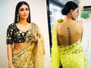 Pavitra Punia is in saree look