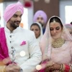 Neha Dhupia Marriage Pics 1