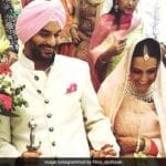 Neha Dhupia Marriage Pics 3
