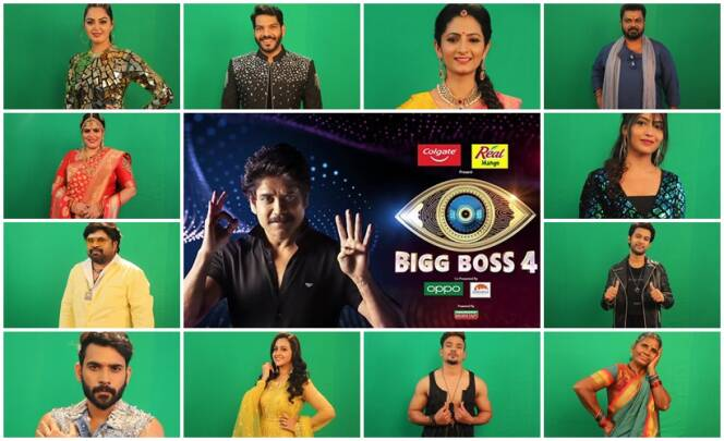Bigg Boss Season 4 Confirmed Contestants List
