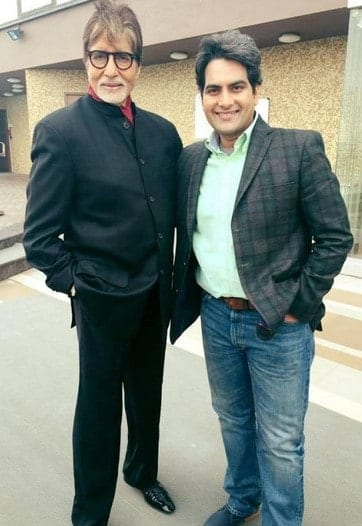 Amithabh Bachan With Sudhir Chaudhary