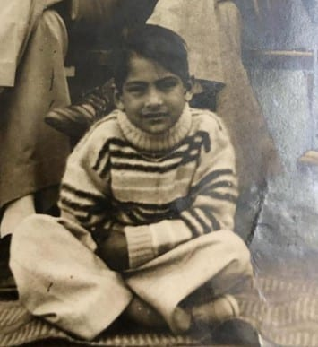 Sudhir Chaudhary Childhood Photo