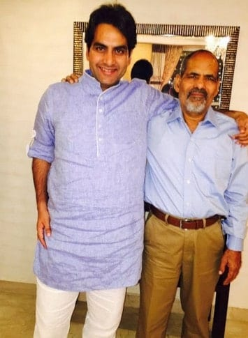 Sudhir Chaudhary Father Ki Photo