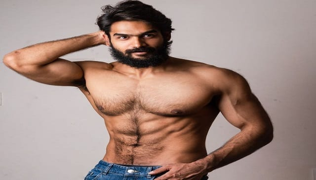 karthikeya new six pack abs photo hot