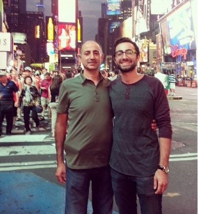 elwa saleh father and brother photo