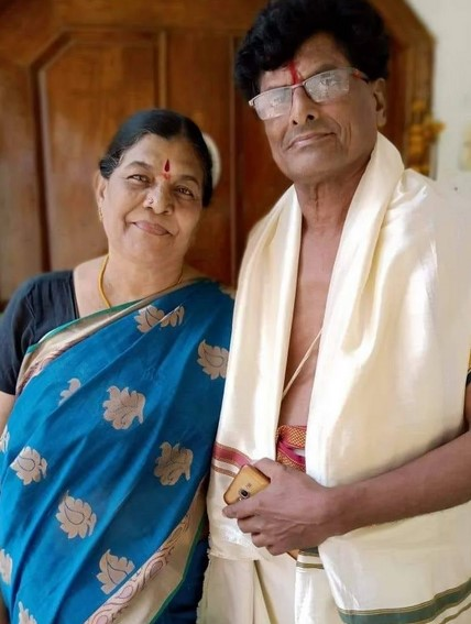 Karate Kalyani MOther and Father Photo