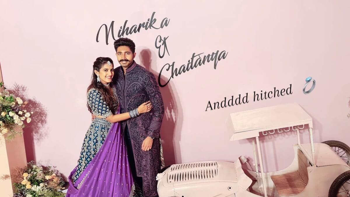 Chaitanya Jonnalagadda and Niharika Konidela Marriage Photo