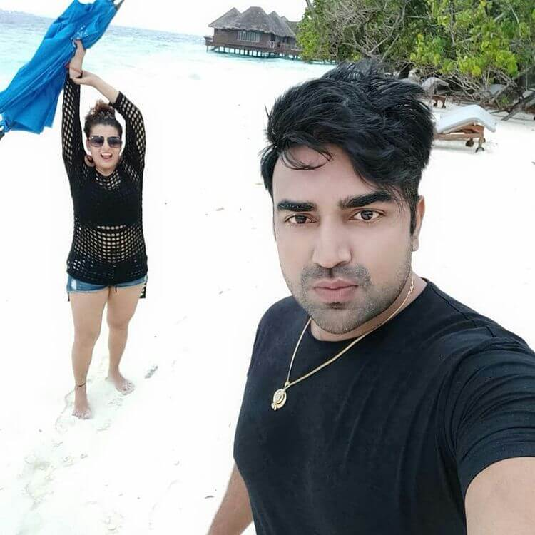 Sandeep Nahar With her Wife Photos (1)