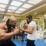 dhruva sarja body building photo